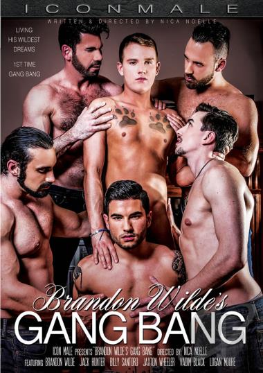 Brandon Wilde's First Gang Bang DVD
