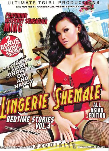 Lingerie Shemale Bedtime 107
