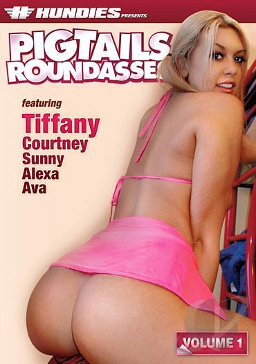 courtney Pigtails round ass