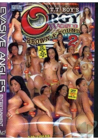 Brown orgy round world consider