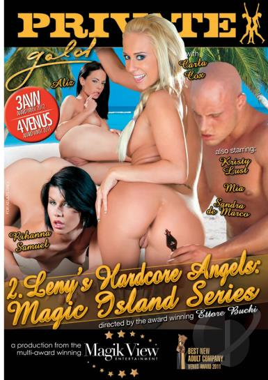 Private Gold 132 – Leny's Hardcore Angels Magic Island Series