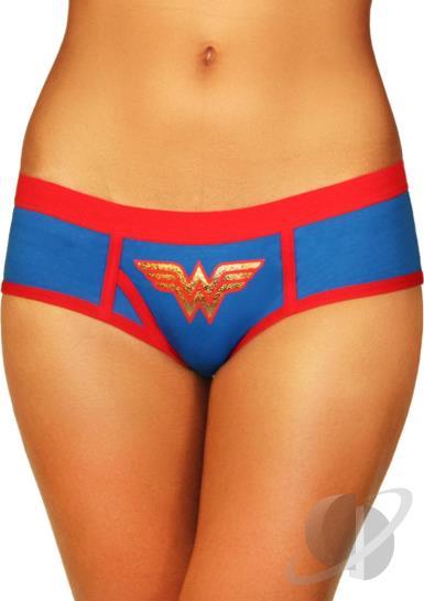 Wonder Woman Boyshort With Foil