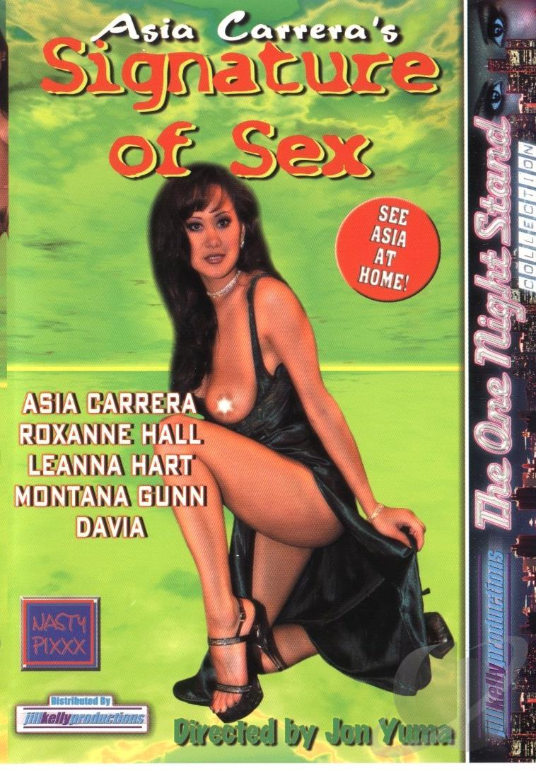 Asia Carrera Riding asia carrera's signature of sex dvd