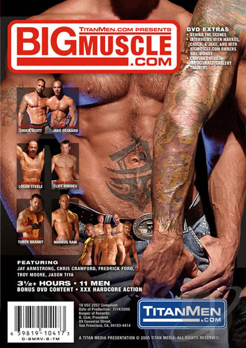 Big Muscle Cover Front