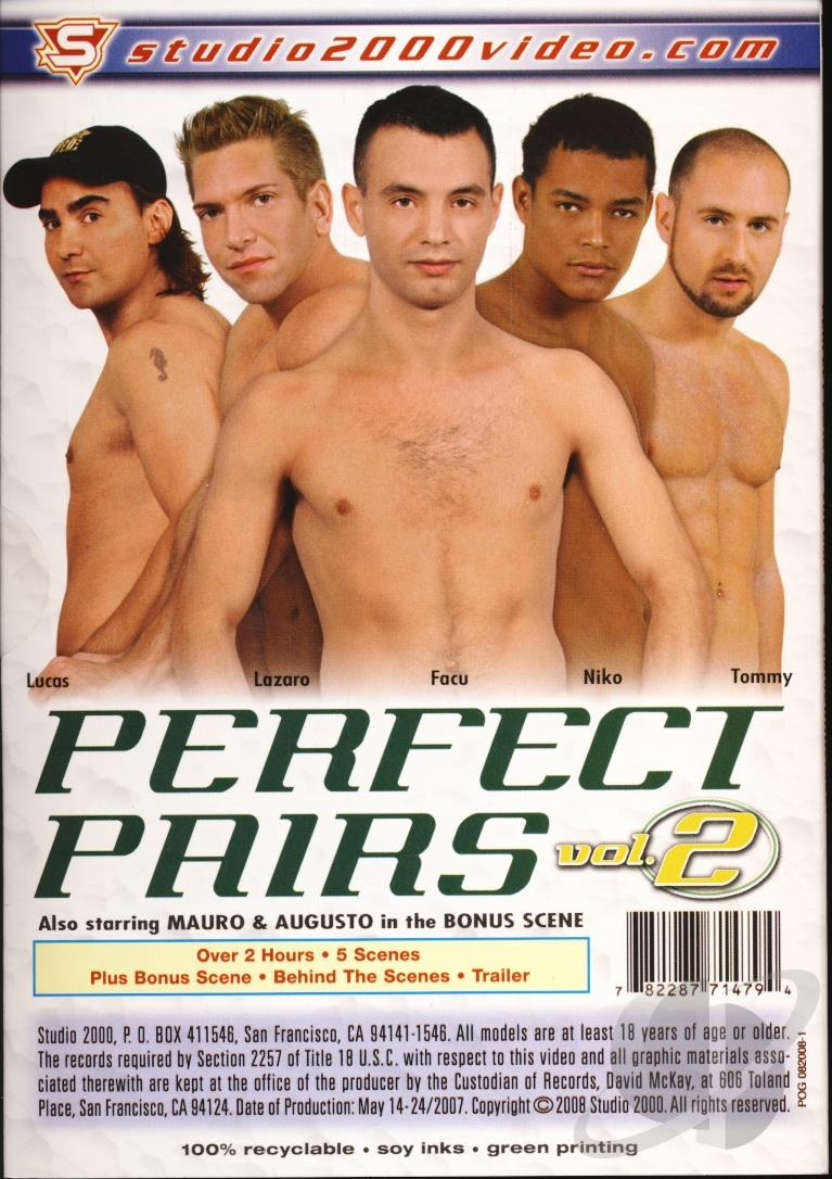 Perfect Pairs 2 Cover Back