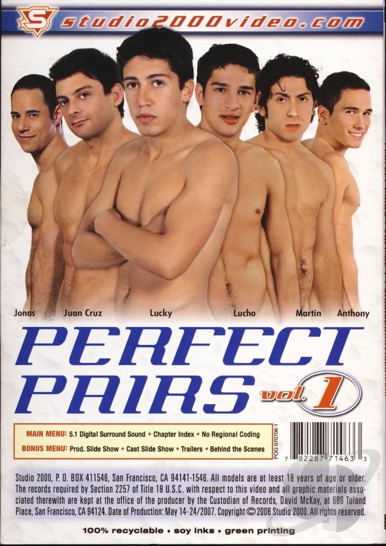 Perfect Pairs 1 Cover Back